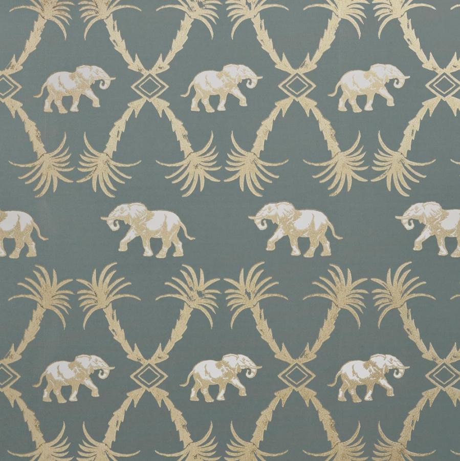 Barneby Gates elephant wallpaper