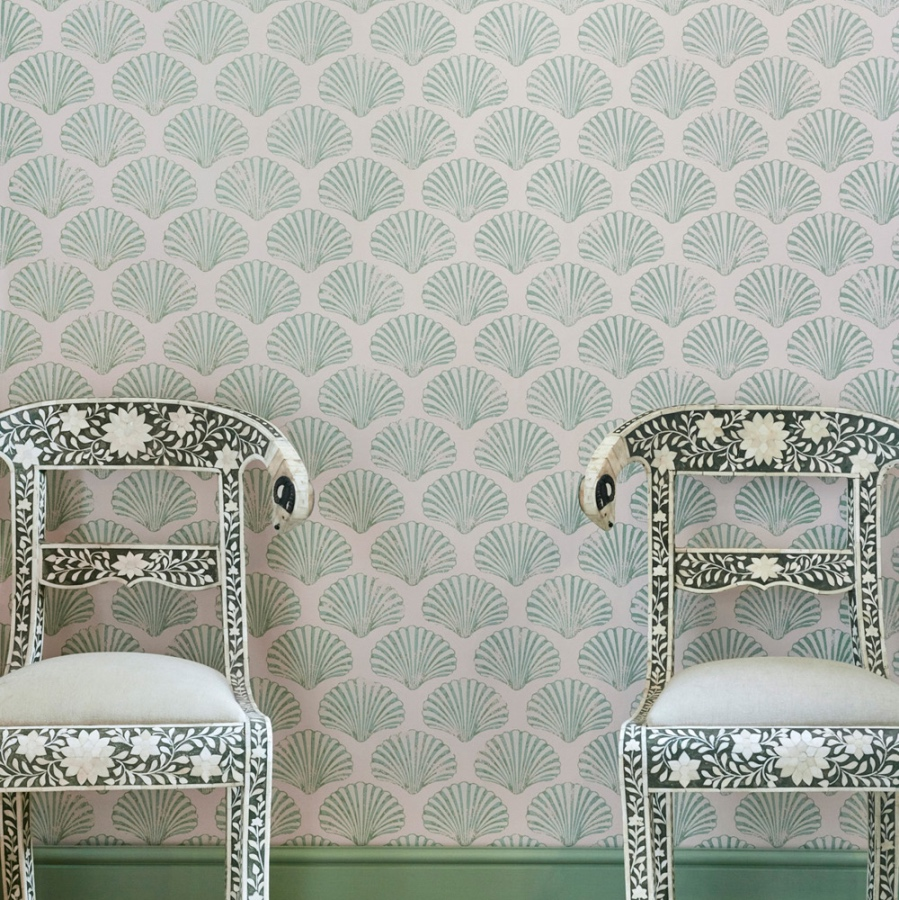 Shell wallpaper barneby gates