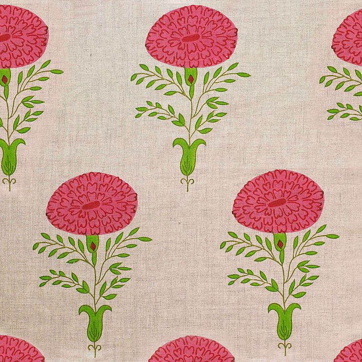 Molly Mahon Marigold Pink Natural
