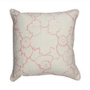 Mimi Pickard Naked Angelica Pink cushion.