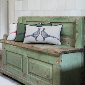 Barneby Gates Pheasant cushion