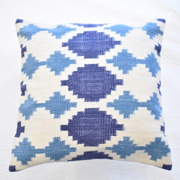 Blue Kilim cushion