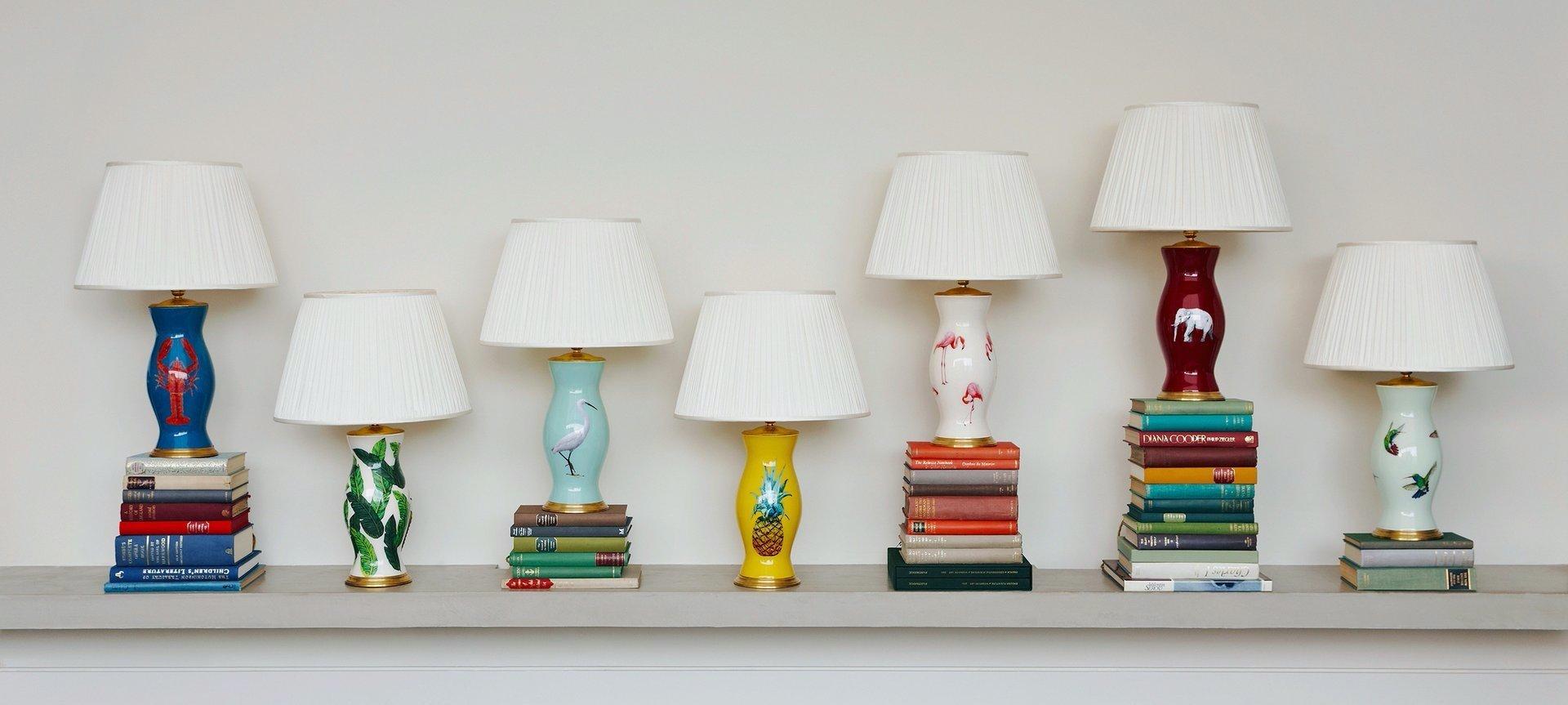 Rosanna Lonsdale lamp bases