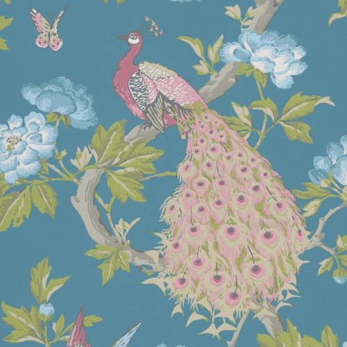 Little Greene Pavona Sylvie wallpaper
