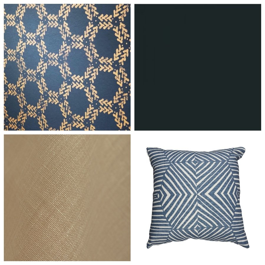 Zoe Glencross moodboard decorating scheme
