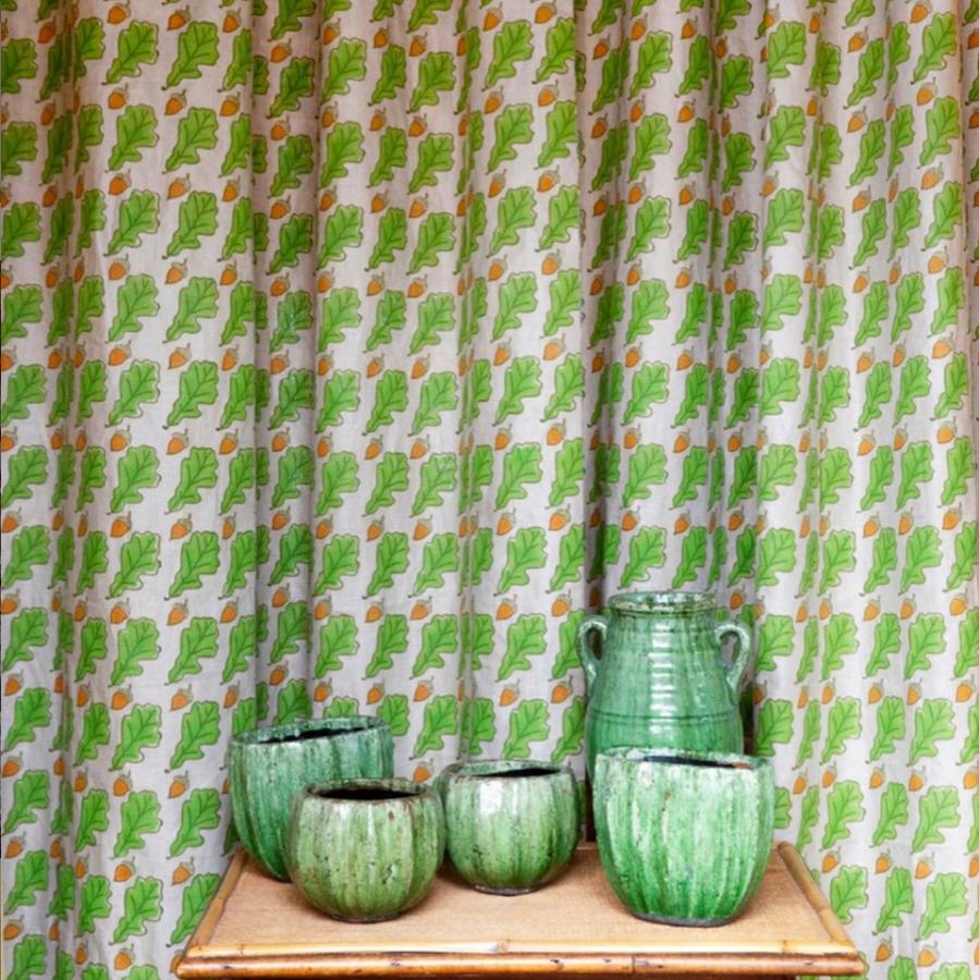 Molly Mahon oak fabric