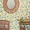Barneby Gates Capri Lemons Natural wallpaper