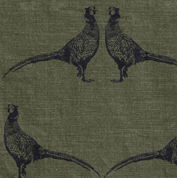 Barneby Gates Pheasant fabric camo green