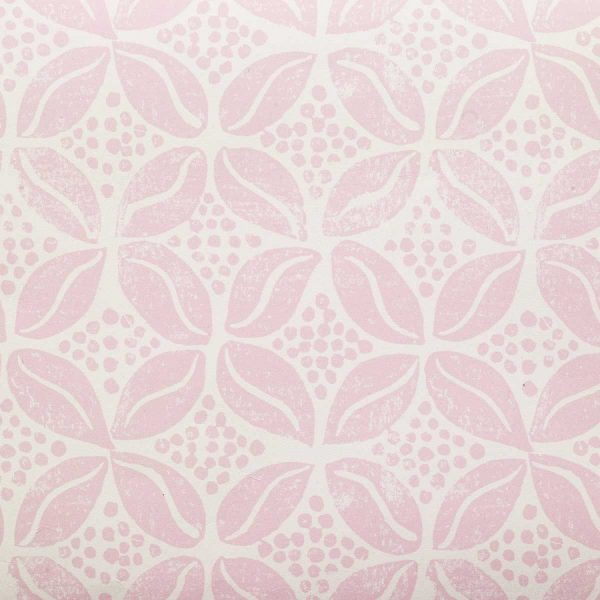 Coffee Bean wallpaper Molly Mahon Pink