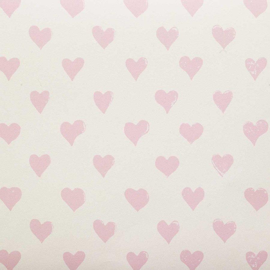 Molly Mahon hearts pink wallpaper