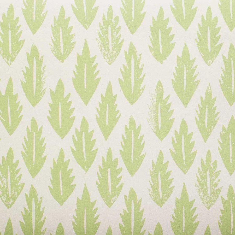Molly Mahon leaf wallpaper grass green