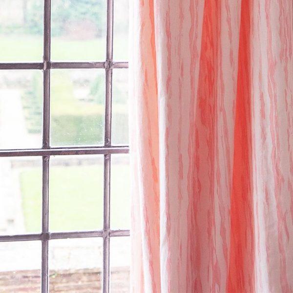 Birdie Fortescue Mishran Marble fabric blossom