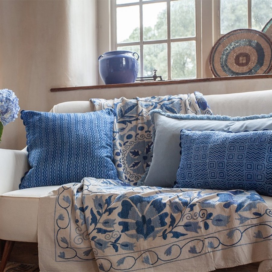 Birdie Fortescue cushions