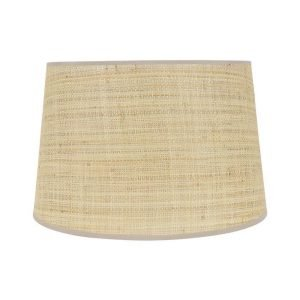 Raffia Bound Lampshade by Birdie Fortescue - Natural