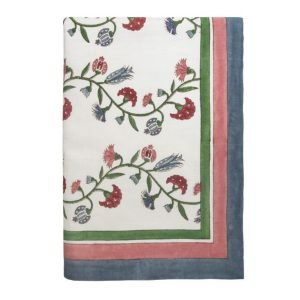 Anatolia blockprinted Tablecloth by Birdie Fortescue