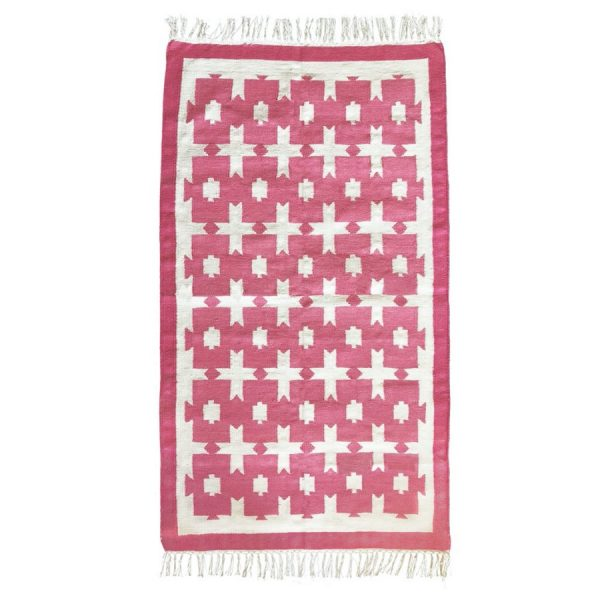 pink rug by Molly Mahon