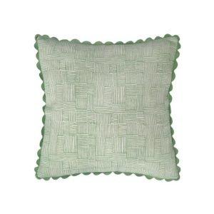 Birdie Fortescue Mishran Crosshatch cushion