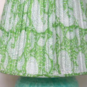 Block & Dye blockprint lampshade